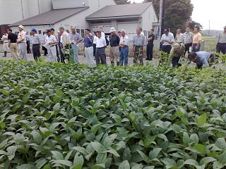 農用地集積事業の現地調査と推進検討会を開催しました。